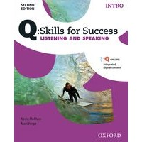 Q: Skills for Success: 2nd Edition - Listening and Speaking Intro Student Book with iQ Online