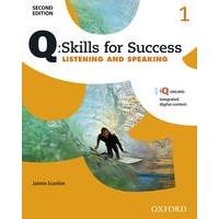 Q: Skills for Success: 2nd Edition - Listening and Speaking 1 Student Book with iQ Online