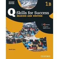 Q: Skills for Success: 2nd Edition - Reading and Writing 1 Student Book B with iQ Online
