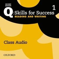 Q: Skills for Success: 2nd Edition - Reading and Writing Level 1 Class Audio CD (1 Disc)