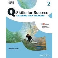 Q: Skills for Success: 2nd Edition - Listening and Speaking 2 Student Book with iQ Online