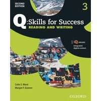 Q: Skills for Success: 2nd Edition - Reading and Writing 3 Student Book with iQ Online