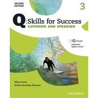 Q: Skills for Success: 2nd Edition - Listening and Speaking 3 Student Book with iQ Online
