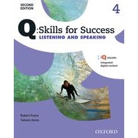Q: Skills for Success: 2nd Edition - Listening and Speaking 4 Student Book with iQ Online