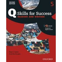 Q: Skills for Success: 2nd Edition - Reading and Writing 5 Student Book with iQ Online