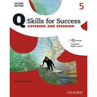 Q: Skills for Success: 2nd Edition - Listening and Speaking 5 Student Book with iQ Online