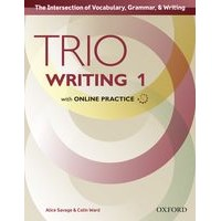Trio Writing 1 Student Book with Online Practice