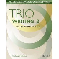 Trio Writing 2 Student Book with Online Practice