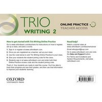 Trio Reading Level 2 Online Practice Teachers Access Card