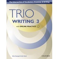 Trio Writing 3 Student Book with Online Practice