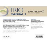 Trio Reading Level 3 Online Practice Teachers Access Card