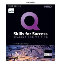 Q: Skills for Success 3rd Ed Reading & Writing Intro Student Book with iQ Online
