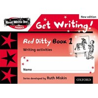 Read Write Inc. Phonics:Get Writing!:Red Ditty Books 1-5 Pack