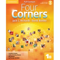 Four Corners 1 Full Contact B + Self-study CD-ROM