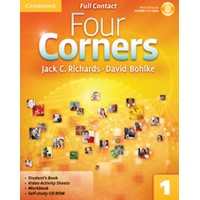 Four Corners 1 Full Contact + Self-study CD-ROM