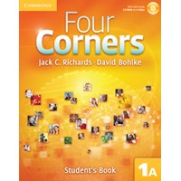 Four Corners 1 Student's Book A + Self-study CD-ROM