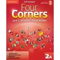Four Corners 2 Full Contact A + Self-study CD-ROM