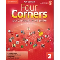 Four Corners 2 Full Contact + Self-study CD-ROM