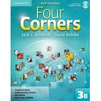 Four Corners 3 Full Contact B + Self-study CD-ROM