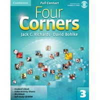 Four Corners 3 Full Contact + Self-study CD-ROM