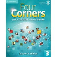 Four Corners 3 Teacher's Edition + Assessment Audio CD/CD-ROM