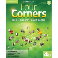 Four Corners 4 Full Contact B  + Self-study CD-ROM