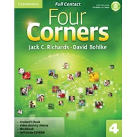 Four Corners 4 Full Contact + Self-study CD-ROM