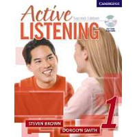 Active Listening 1 (2/E) Student Book + Self-Study Audio CD