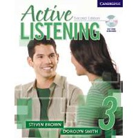 Active Listening 3 (2/E) Student Book + Self-Study Audio CD