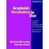 Academic Vocabulary in Use Student Book + Answers