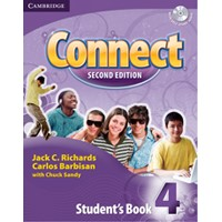 Connect 4 (2/E) Student Book + Audio CD