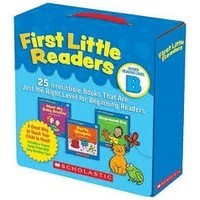 First Little Readers B Boxed Set + CD