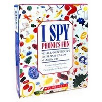 I SPY Phonics Fun Boxed Set + CD Set