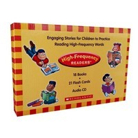 High-Frequency Readers Boxed Set 18 titles + CD