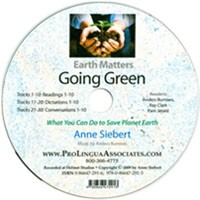 Earth Matters Going Green CD (PLA)