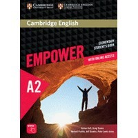 Cambridge English Empower Elementary Student's Book with Online Assessment and