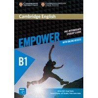 Cambridge English Empower Pre-intermediate Student's Book with Online Assessme