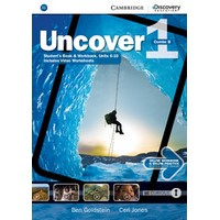 Uncover 1 Student's Book Combo B with Online Workbook and Online Practice