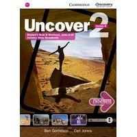 Uncover 2 Student's Book Combo B with Online Workbook and Online Practice