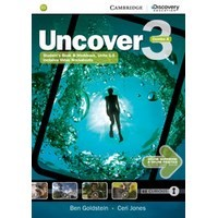 Uncover 3 Student's Book Combo A with Online Workbook and Online Practice