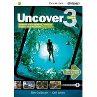 Uncover 3 Student's Book Combo B with Online Workbook and Online Practice
