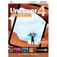 Uncover 4 Student's Book Combo B with Online Workbook and Online Practice