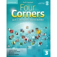 Four Corners 3 Student's Book + Self-study CD-ROM and Online Workbook