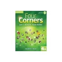 Four Corners 4 Student's Book A + Self-study CD-ROM and Online Workbook