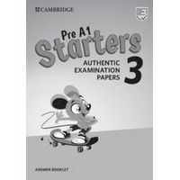 Pre A1 Starters Authentic Examination Papers 3  Answer Booklet