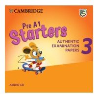 Pre A1 Starters Authentic Examination Papers 3  Audio CD