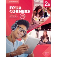 Four Corners 2B (2/E) SB w/Self-study & Online WB Pack