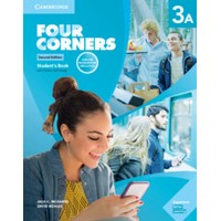 Four Corners 3A (2/E) SB w/Self-study & Online WB Pack
