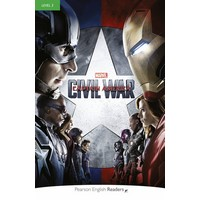 Pearson English Graded Readers 3: Marvel's CaptainAmerica: Civil War