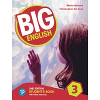 Big English3 (2E) Student Book with Online World Access Pack